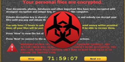 Ransomware; wij hebben uw data gegijzeld!