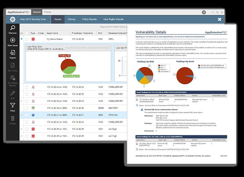 database scanning