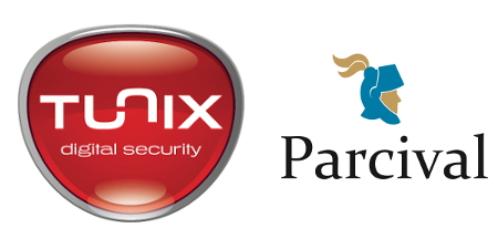 TUNIX Digital Security en Parcival slaan de handen in één