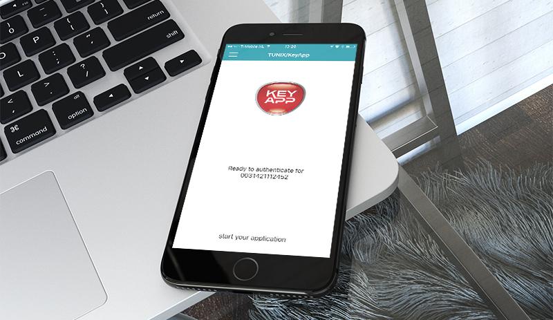 Nieuwe versie TUNIX/KeyApp voor Android